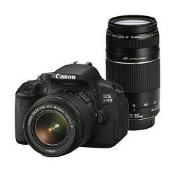 Canon EOS 650D DZ DC kit EFS18-55III+EF75-300 III