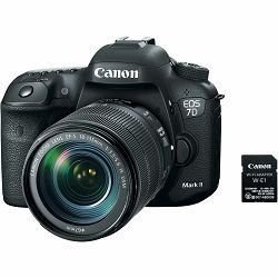 Canon EOS 7D Mark II + 18-135 IS USM NANO + W-E1 WiFi adapter WE1 DSLR digitalni fotoaparat s objektivom EF-S 18-135mm (9128B137AA)
