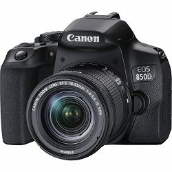 Canon EOS 850d 18-55 IS STM DSLR digitalni fotoaparat s objektivom EF-S 18-55mm f/3.5-5.6 (3925C016AA)