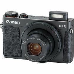 Canon Powershot G9X II Black crni kompaktni digitalni fotoaparat (1717C002AA)