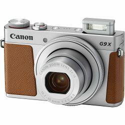 Canon Powershot G9X II Silver srebreni kompaktni digitalni fotoaparat (1718C002AA)