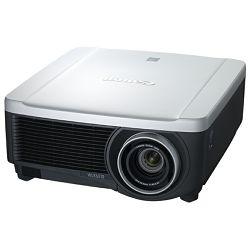 Canon WUX6010 - LCOS, WUXGA 1920x1200, 6.000 ANSI, 2000:1, 8.5 kg, VGA+HDBaseT+HDMI+DVI+S-video+video,  optički keystone (V+H), el. zoom 1.5x, izmjenjivi objektivi (RS-IL)