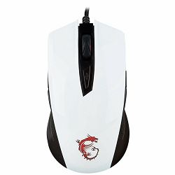 MSI GAMING Clutch GM40 White Mouse