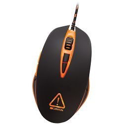 Canyon Optical gaming mouse,  adjustable DPI setting 800/1600/2400/4800, LED backlight, Black
