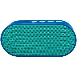 Portable Bluetooth V4.2+EDR stereo speaker with 3.5mm Aux, microSD card slot, USB / micro-USB port, bulit in 300mA battery