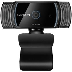 Canyon 1080P full HD 2.0Mega auto focus webcam with USB2.0 connector, 360 degree rotary view scope, built in MIC, IC Sunplus2281, Sensor OV2735