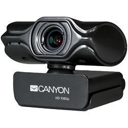 Canyon 2k Ultra full HD 3.2Mega webcam with USB2.0 connector, buit-in MIC, Manual focus, IC SN5262, Sensor Aptina 0330.
