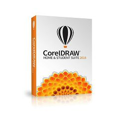 CorelDRAW Graphics Suite Home & Student Suite 2018 - DVD BOX