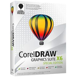 CorelDraw Graphics Suite X6 Special Edition - AKCIJA!