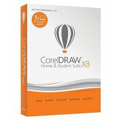 CorelDraw Graphics Suite X8 Home & Student Suite