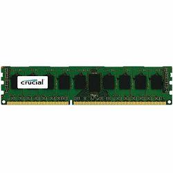 Crucial 8GB DDR3L 1600MT/s (PC3-12800) DR x8 ECC UDIMM 240p