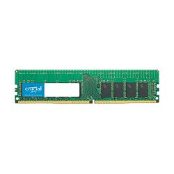 CRUCIAL 16GB DDR4-2666 RDIMM, CL=19, Dual Ranked, x8 based, Registered, ECC, DDR4-2666, 1.2V, 2048Meg x 72