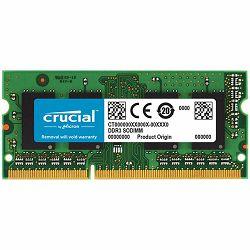 CRUCIAL 4GB DDR3L 1333 MT/s (PC3-10600) CL9 SODIMM 204pin 1.35V/1.5V for Mac