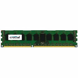 Crucial 4GB DDR3 1600 MT/s (PC3-12800) CL11 Unbuffered ECC UDIMM 240pin 1.35V/1.5V