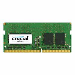 Crucial DRAM 8GB DDR4 2400 MT/s (PC4-19200) CL17 SR x8 Unbuffered SODIMM 260pin Single Ranked, EAN: 649528776334