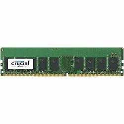 Crucial DRAM 8GB DDR4 2666 MT/s (PC4-21300) CL19 DR x8 ECC Unbuffered DIMM 288pin, EAN: 649528776822