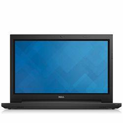 DELL Notebook Inspiron 3542 15.6(1366x768), Celeron 2957U (1.4GHz) 4GB DDR3 1600MHz, 500GB 5400rpm, Intel HD 4000, DVDRW, WiFi/BT, RJ-45, HDMI, CR, Linux Ubuntu 12.04, Silver, 3Y