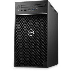 DELL Precision 3650 Tower, Intel i9-11900 5.2GHz, 16GB RAM, M.2 1TB PCIe NVMe SSD, 2TB HDD, Intel VGA, DVD/RW, 2xDP, HDMI, SD CR, Windows 10 Pro,3Y
