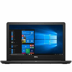 NB DELL Inspiron 15-3567, 15,6 HD(1366x768) , i3-6006U(3M, 2.0 GHz), 4GB DDR4, 1T HDD, Intel HD Graphics 520, DVD RW, HDMI, 2xUSB 3.0, 1xUSB 2.0, SD Card Reader, 4-Cell Battery(40WHr), Linux, Black