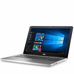 DELL Notebook Inspiron 5567 15.6 HD (1366 x 768), Intel Core i5-7200U(3M, up to 3.10 GHz), 4GB, 1TB, Intel HD620, DVDRW, WiFi, BT, RJ-45, HD Cam, Mic, 2xUSB3.0, USB 2.0, HDMI, CR, Linux, White, 3Y