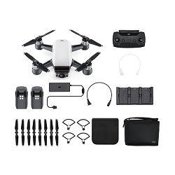 DJI Spark Fly More Combo Alpine White 50km/h bijeli dron za snimanje iz zraka s 2-axis gimbal stabilizatorom i 12MP kamerom CP.PT.000889