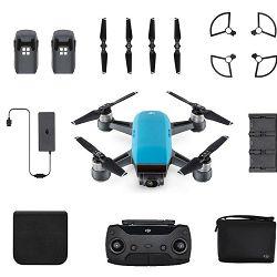 DJI Spark Fly More Combo Sky Blue 50km/h plavi dron za snimanje iz zraka s 2-axis gimbal stabilizatorom i 12MP kamerom CP.PT.000892