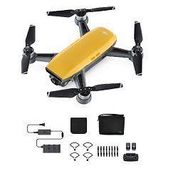 DJI Spark Fly More Combo Sunrise Yellow 50km/h žuti dron za snimanje iz zraka s 2-axis gimbal stabilizatorom i 12MP kamerom CP.PT.000890