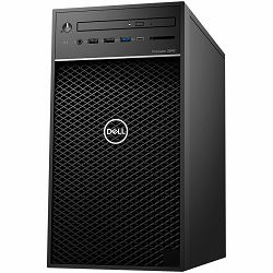 DELL Precision 3640 Tower, Intel i7-10700 4.8GHz, 8GBRAM, 1TB 7200rpm SATA 3.5, m.2 256GB PCIe, Intel Integrated, 8xDVDRW, no WiFi, Speaker, TPM, CR, K+M, Windows 10 Pro, 3Y