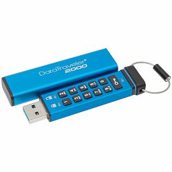 Kingston 16GB Keypad USB 3.0 DT2000, 256bit AES Hardware Encrypted EAN: 740617247985
