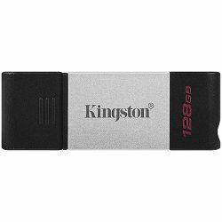 KINGSTON DT80 128GB Flash USB 3.2 Gen 1, USB-C Storage