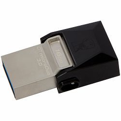 Kingston  16GB  DT MicroDuo USB 3.0 + microUSB (Android/OTG), EAN: 740617230734