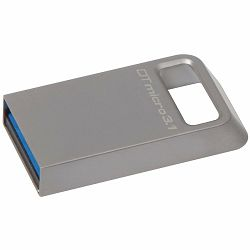Kingston  128GB DTMicro USB 3.1/3.0 Type-A metal ultra-compact flash drive, EAN: 740617242928