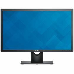 Monitor DELL E-series E2417H 23.8, 1920x1080, FHD, IPS Antiglare, 16:9, 1000:1, 250cd/m2, 8ms, 178/178, VGA, DisplayPort, Tilt, 3Y