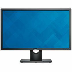 Monitor DELL E-series E2417H 23.8, 1920x1080, FHD, IPS Antiglare, 16:9, 1000:1, 250cd/m2, 8ms, 178/178, VGA, DisplayPort, Tilt, 3Y