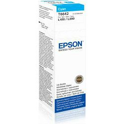 Epson Tinta CISS cyan L100/110/200/210/300/355/550, C13T66424A