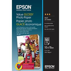 Epson Papir Value Glossy Photo Paper 10x15cm 100 sheet, C13S400039