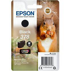 Epson Tinta 378 Claria Black -XP 15000, C13T37814010