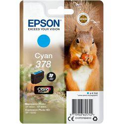 Epson Tinta 378 Claria Cyan -XP 15000, C13T37824020