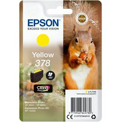 Epson Tinta 378 Claria Yellow -XP 15000, C13T37844020
