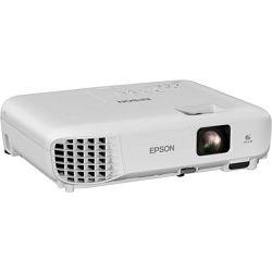 EPSON EB-E01 Projector 3LCD XGA 3300Lumens 4:3 15000:1 1.44-1.95:1 VGA HDMI USB 2.0 type B, V11H971040