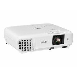 Epson EB-W49 - 3LCD projector - portable - 3800 lumens (white) - 3800 lumens (colour) - WXGA (1280 x 800) - 16:10 - LAN - white, V11H983040