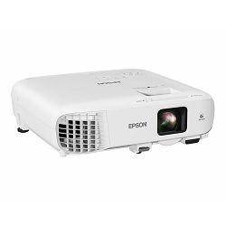 Epson EB-X49 - 3LCD projector - portable - 3600 lumens (white) - 3600 lumens (colour) - XGA (1024 x 768) - 4:3 - LAN, V11H982040