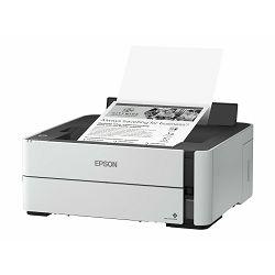 Epson EcoTank ET-M1170 - B/W - Duplex - ink-jet - refillable - A4 - 1200 x 2400 dpi - up to 20 ppm - capacity: 250 sheets - USB 2.0, Gigabit LAN, Wi-Fi(n), C11CH44402