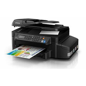 EPSON L655 CISS A4, print/scan/copy/fax, USB,LAN,WiFi, C11CE71401