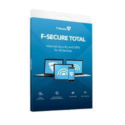 F-Secure Total Sec&Privacy lic.1g,3 uređaja,kutija