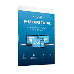 F-Secure Total Sec&Privacy lic.1g,5 uređaja,kutija