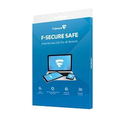 F-Secure SAFE licenca 1g, 3 uređaja, kutija