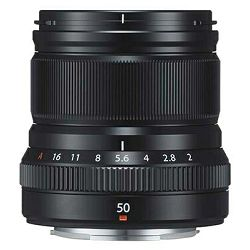 FUJI FUJINON XF 50mm F2 R WR fixed, black