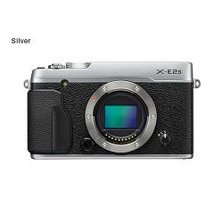 FUJI X-E2s Body, SILVER - 16MP APS- Trans CMOS II, 3,0