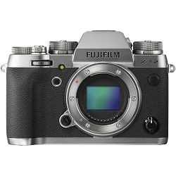 FUJI X-T2 Graphite Silver Body only, 24MP X-Trans CMOS III, 3,0